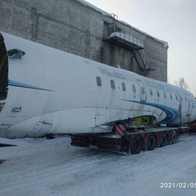 перевозка самолета 2021